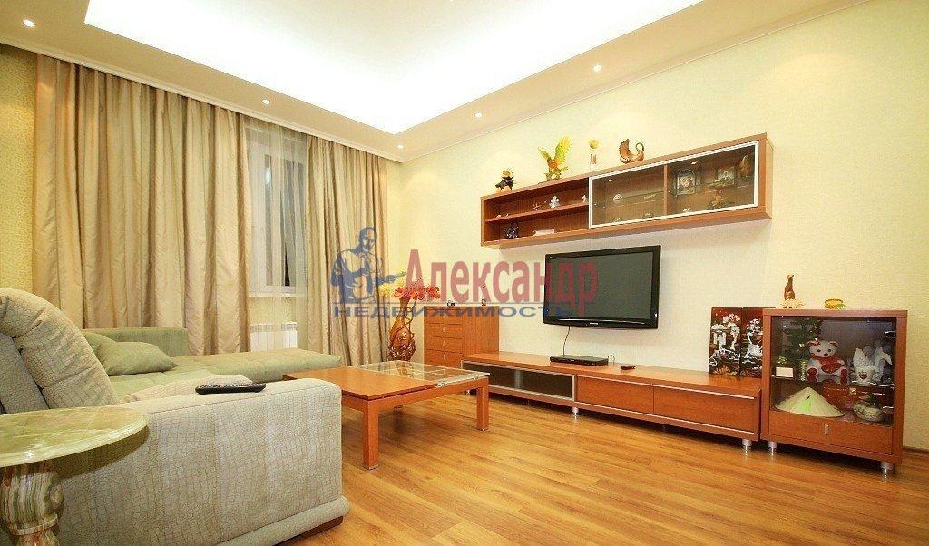 Комната в 3-комнатной квартире (87м2) в аренду по адресу Варшавская ул., 21— фото 1 из 3
