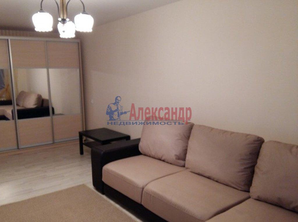 1-комнатная квартира (39м2) в аренду по адресу Дунайский пр., 28— фото 2 из 3