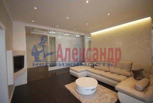 3-комнатная квартира (98м2) в аренду по адресу Воскресенская наб., 4— фото 1 из 23