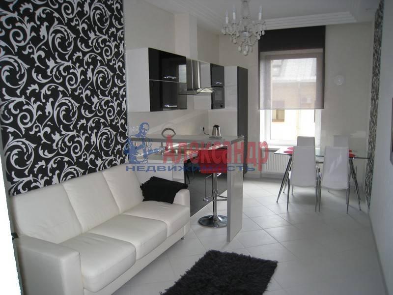 1-комнатная квартира (50м2) в аренду по адресу Галерная ул.— фото 1 из 10