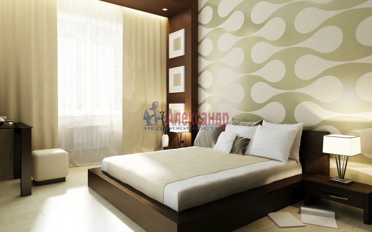 1-комнатная квартира (39м2) в аренду по адресу Бассейная ул., 89— фото 1 из 2