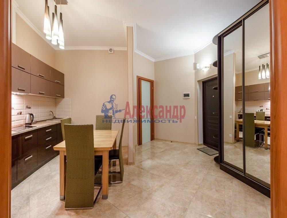 1-комнатная квартира (49м2) в аренду по адресу Смоленская ул., 11— фото 2 из 5