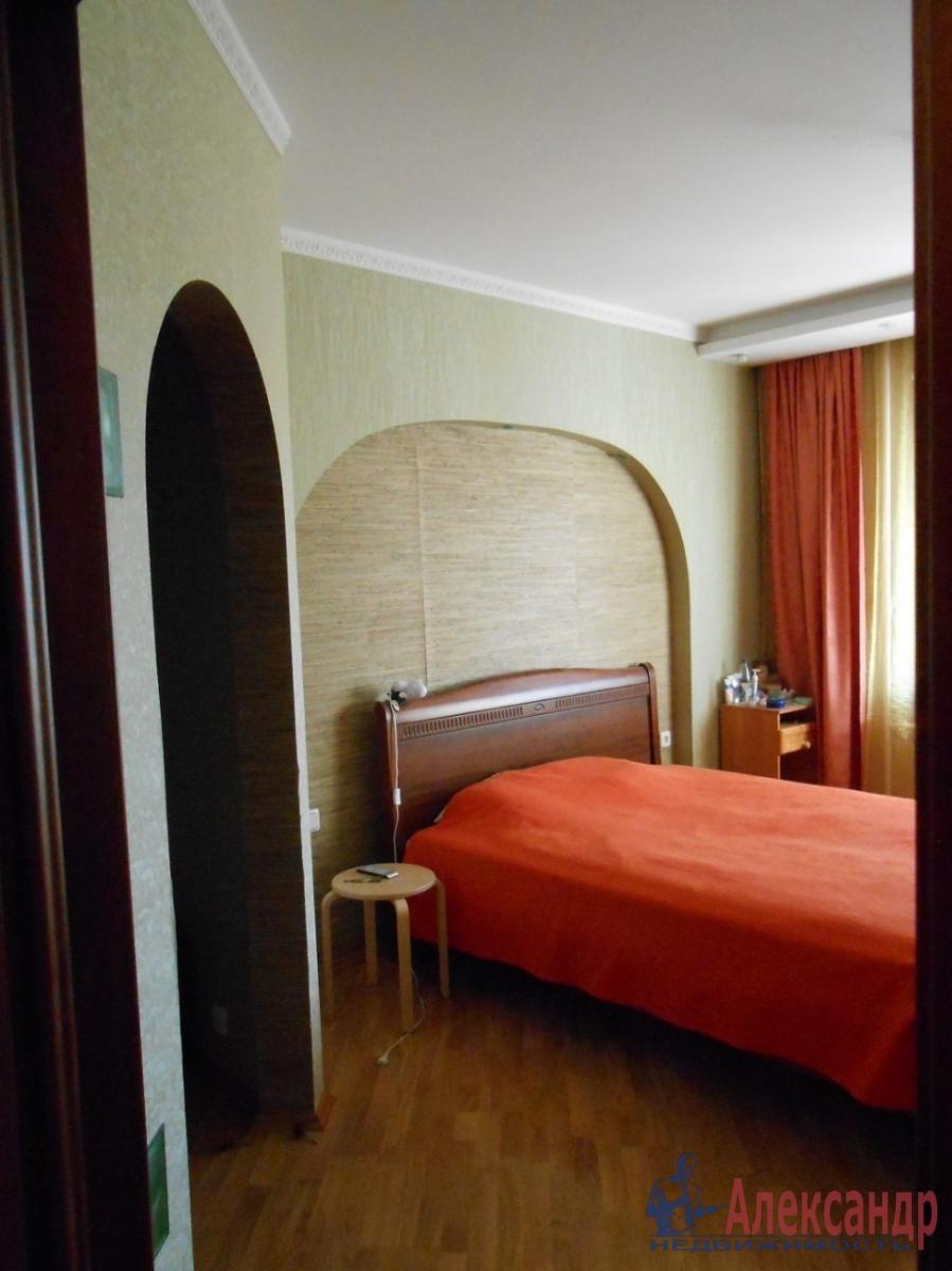 3-комнатная квартира (98м2) в аренду по адресу Коллонтай ул., 17— фото 1 из 12