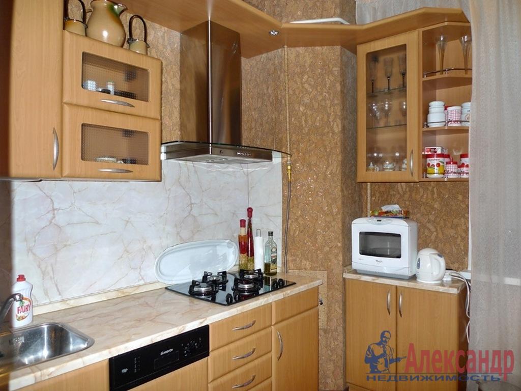 1-комнатная квартира (37м2) в аренду по адресу Торжковская ул., 1— фото 2 из 3