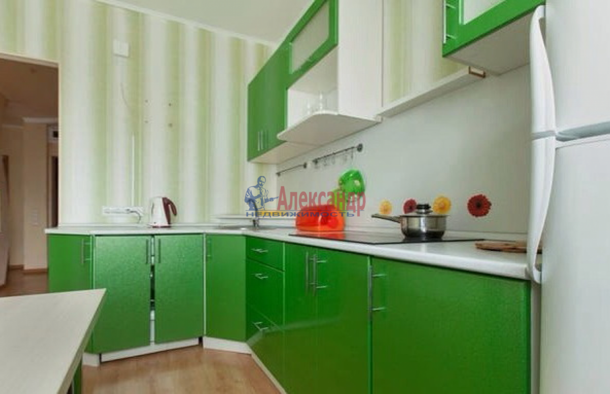 1-комнатная квартира (42м2) в аренду по адресу Коломяжский пр., 26— фото 1 из 4