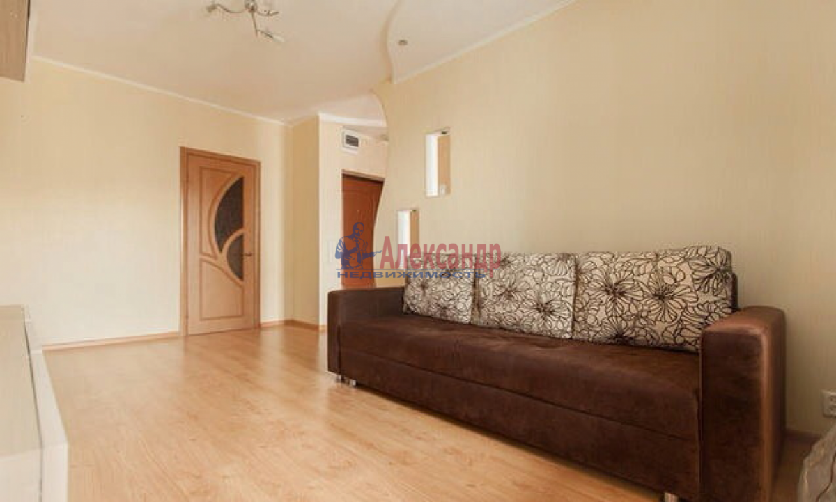 1-комнатная квартира (42м2) в аренду по адресу Коломяжский пр., 26— фото 2 из 4