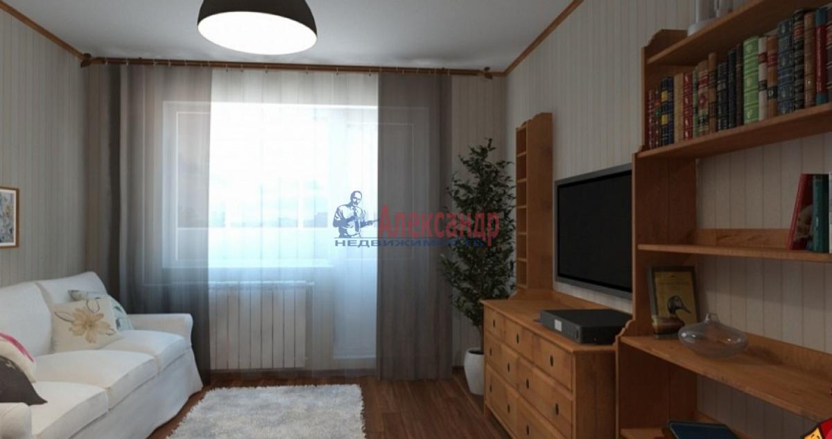 1-комнатная квартира (43м2) в аренду по адресу Московский просп., 183— фото 5 из 5