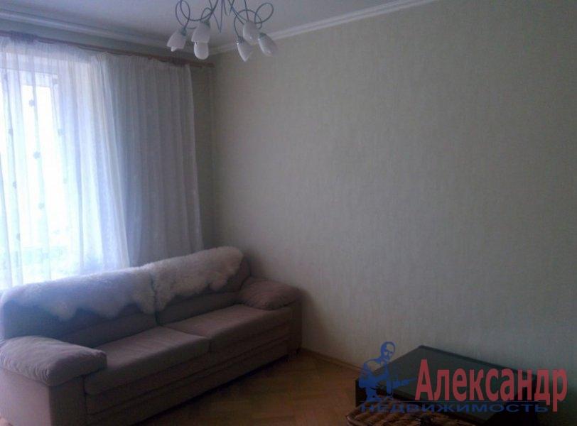3-комнатная квартира (70м2) в аренду по адресу Ленинский пр., 149— фото 4 из 6