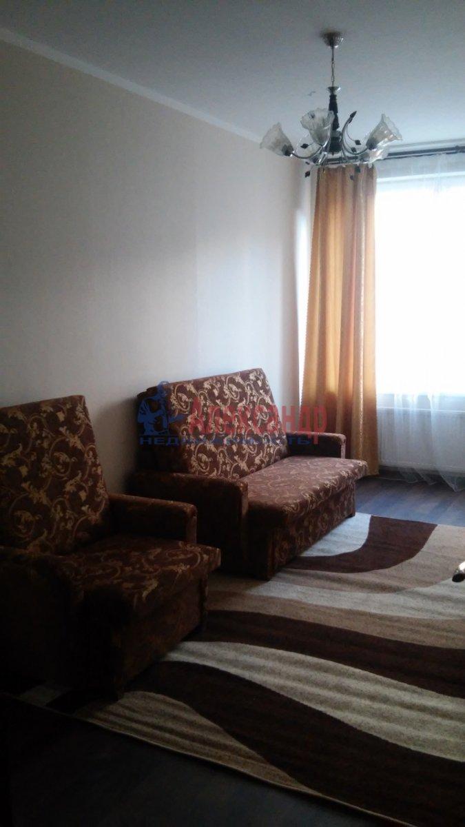 1-комнатная квартира (40м2) в аренду по адресу Просвещения пр., 15— фото 7 из 8