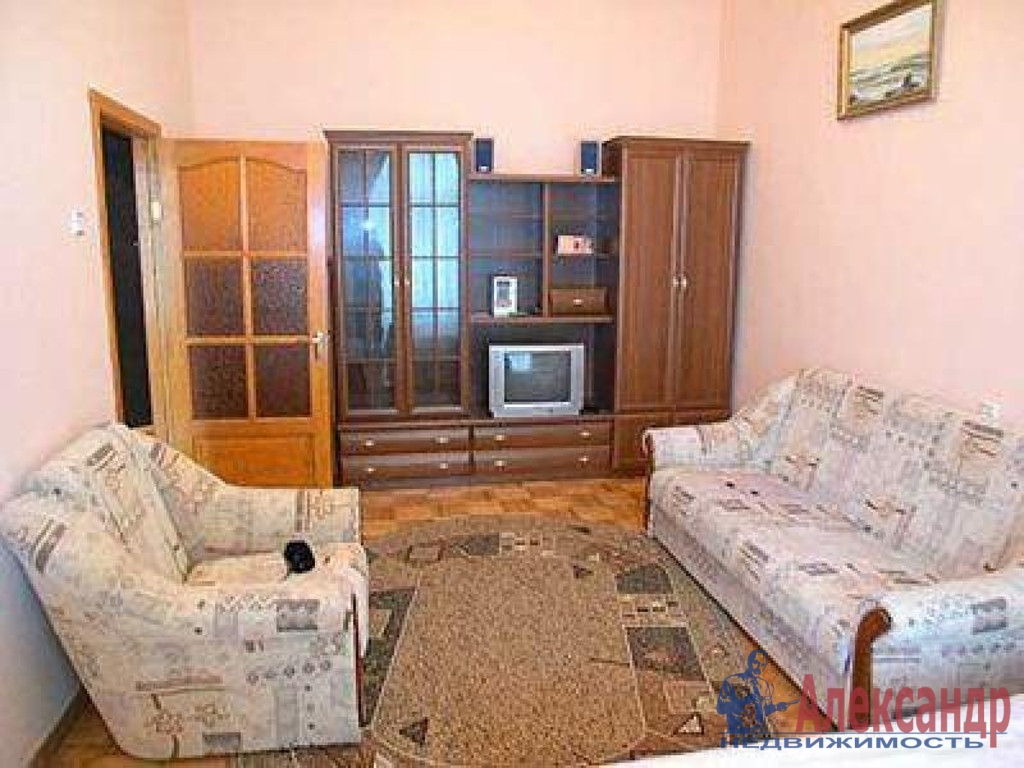 1-комнатная квартира (30м2) в аренду по адресу Пархоменко пр., 26— фото 1 из 2