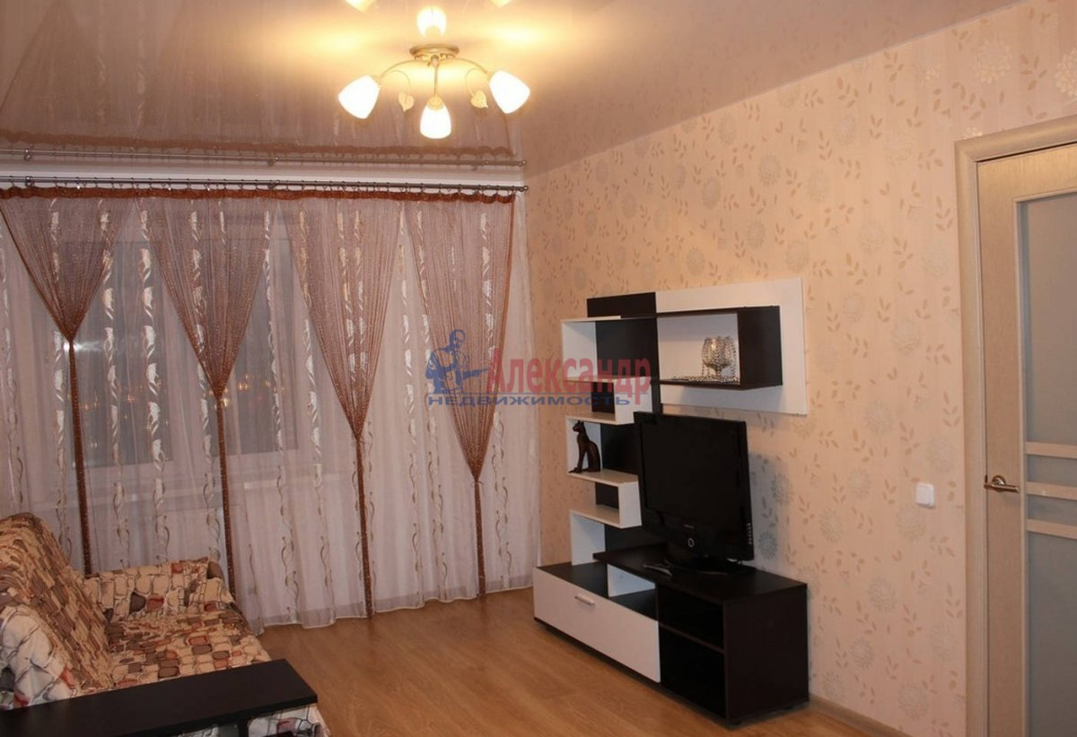 3-комнатная квартира (85м2) в аренду по адресу Просвещения пр., 99— фото 2 из 3