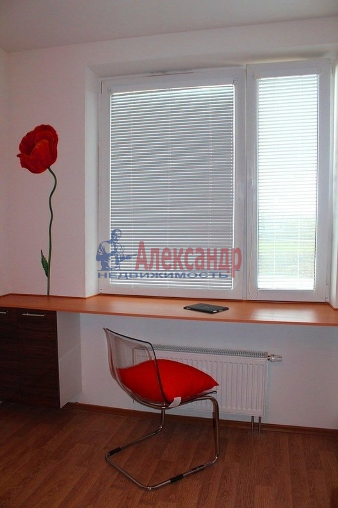 1-комнатная квартира (34м2) в аренду по адресу Яхтенная ул., 1— фото 7 из 9