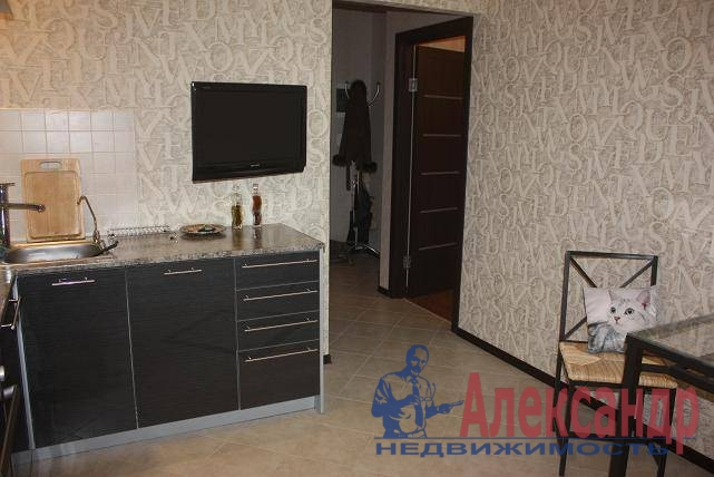 1-комнатная квартира (40м2) в аренду по адресу Ветеранов пр., 75— фото 3 из 7