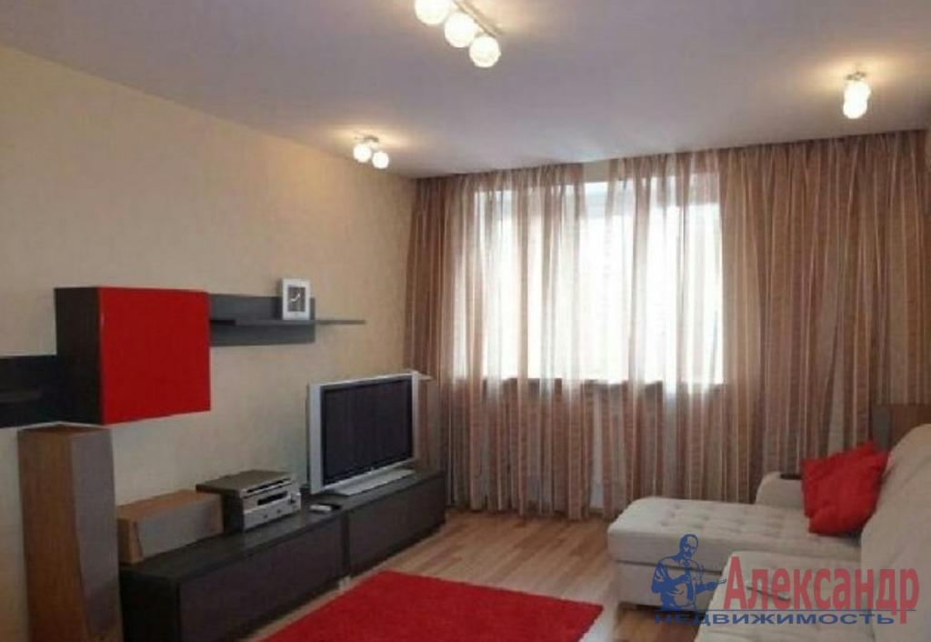 1-комнатная квартира (40м2) в аренду по адресу Адмирала Трибуца ул., 7— фото 1 из 3