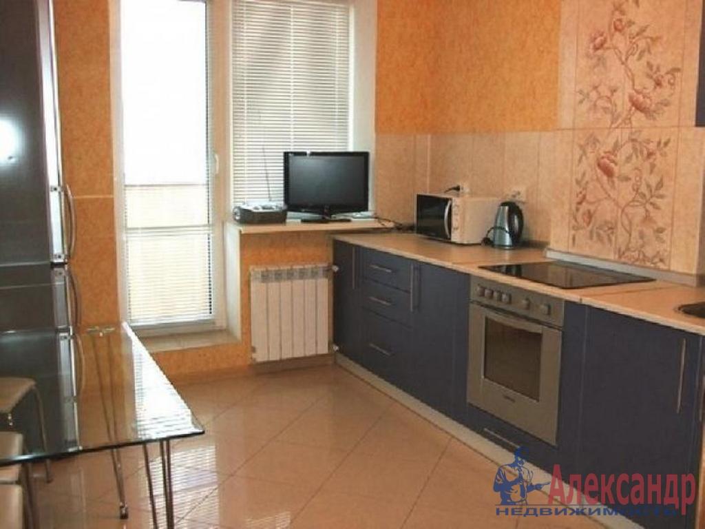 1-комнатная квартира (40м2) в аренду по адресу Туристская ул., 23— фото 2 из 3