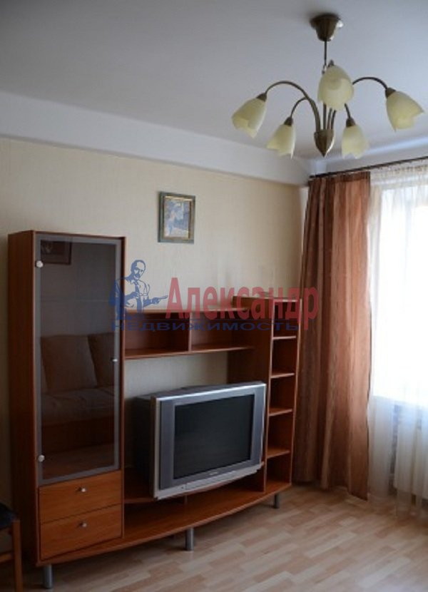 1-комнатная квартира (45м2) в аренду по адресу Светлановский просп., 99— фото 3 из 8