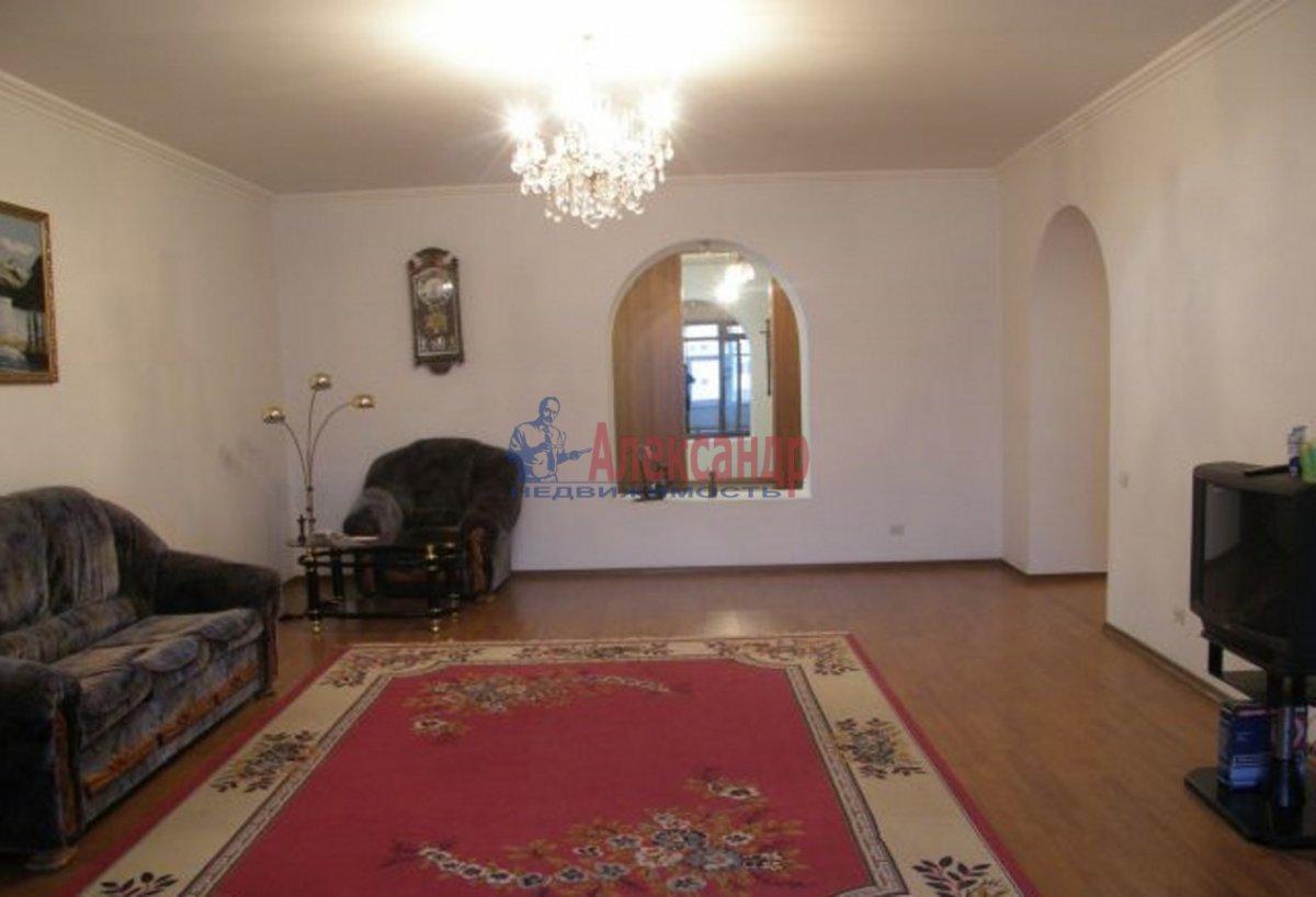 3-комнатная квартира (120м2) в аренду по адресу Большая Зеленина ул., 13— фото 3 из 4