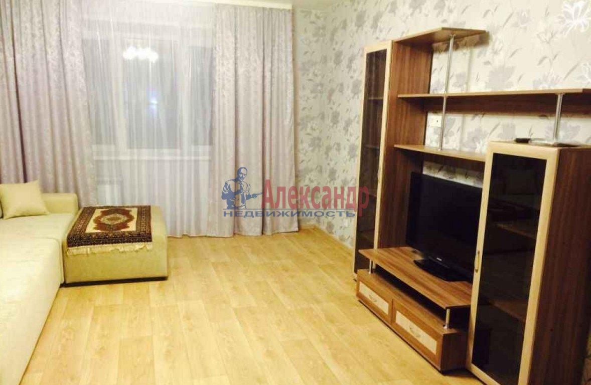 1-комнатная квартира (43м2) в аренду по адресу Просвещения пр., 46— фото 1 из 2