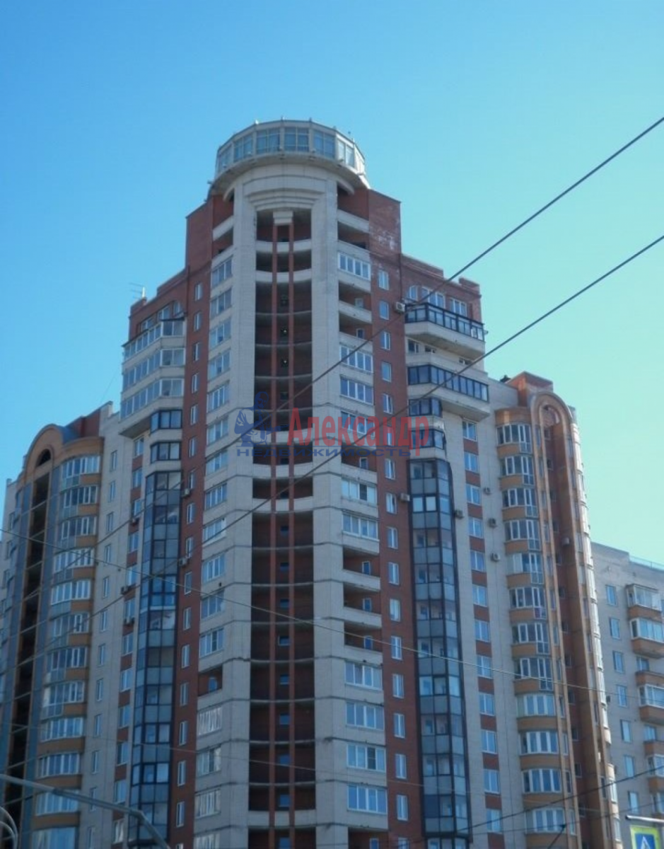 1-комнатная квартира (43м2) в аренду по адресу Ленинский пр., 109— фото 1 из 11