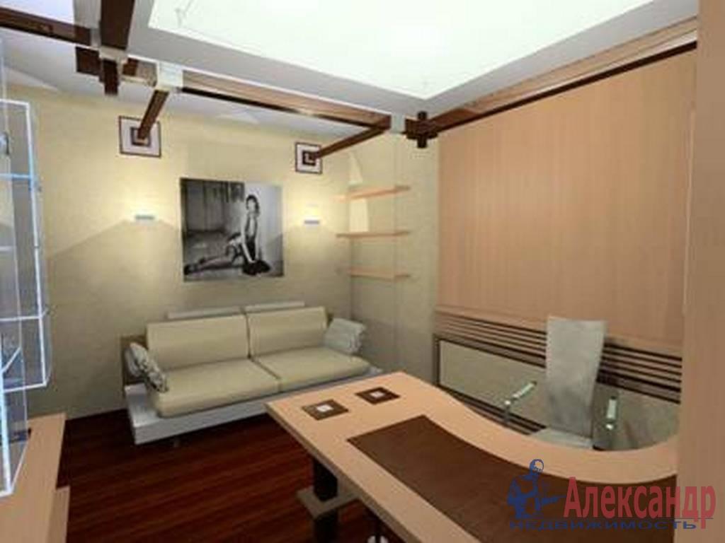 3-комнатная квартира (110м2) в аренду по адресу Петровский пр., 14— фото 3 из 4