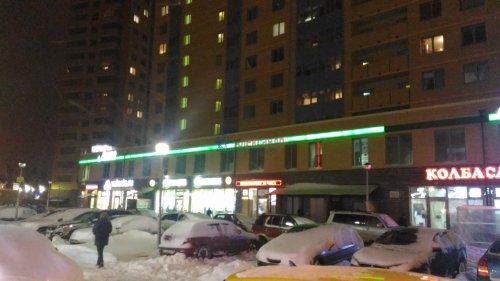 1-комнатная квартира (38м2) на продажу по адресу Мурино пос., Привокзальная пл., 1— фото 5 из 9