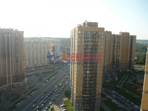 1-комнатная квартира (45м2) на продажу по адресу Парголово пос., Михаила Дудина ул., 23— фото 1 из 7