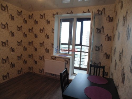 1-комнатная квартира (36м2) на продажу по адресу Мурино пос., Новая ул., 7— фото 5 из 13