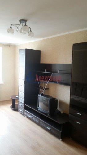 1-комнатная квартира (37м2) на продажу по адресу Мурино пос., Новая ул., 7— фото 14 из 15