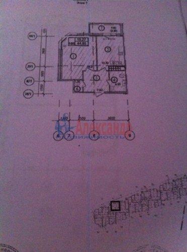 1-комнатная квартира (45м2) на продажу по адресу Береговая ул., 6— фото 3 из 8