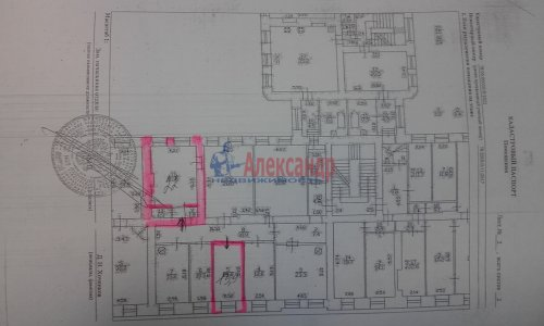 Комната в 8-комнатной квартире (240м2) на продажу по адресу Кадетская линия, 31— фото 13 из 13