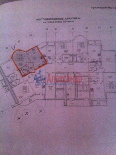 1-комнатная квартира (35м2) на продажу по адресу Парголово пос., 4 Верхний пер., 17— фото 3 из 3