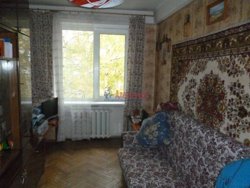 2-комнатная квартира (45м2) на продажу по адресу Юрия Гагарина просп., 14— фото 4 из 9