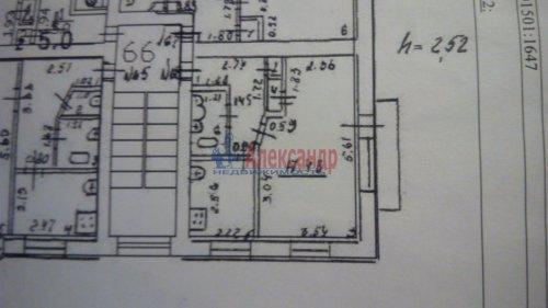 1-комнатная квартира (32м2) на продажу по адресу Красное Село г., Лермонтова ул., 12— фото 1 из 1