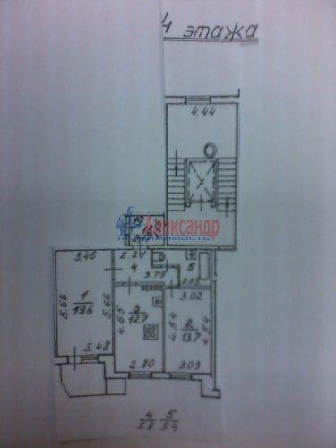 2-комнатная квартира (57м2) на продажу по адресу Новаторов бул., 49— фото 5 из 5