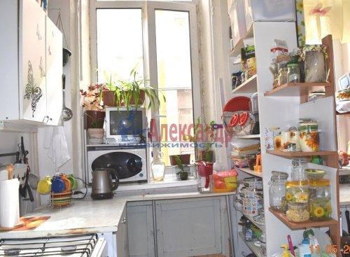 2 комнаты в 6-комнатной квартире (190м2) на продажу по адресу Английский пр., 26— фото 8 из 15