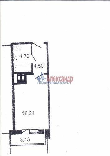 Студия (27м2) на продажу — фото 2 из 2