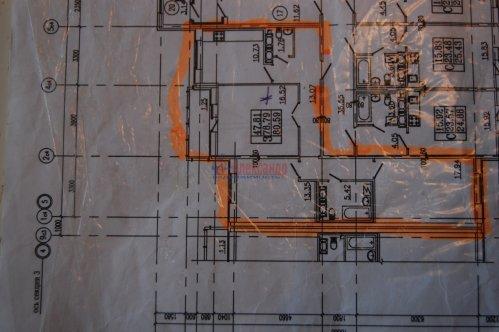 3-комнатная квартира (80м2) на продажу по адресу Кудрово дер., Венская ул., 5— фото 2 из 6