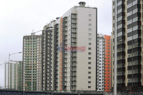 1-комнатная квартира (36м2) на продажу по адресу Мурино пос., Шувалова ул., 10— фото 1 из 7