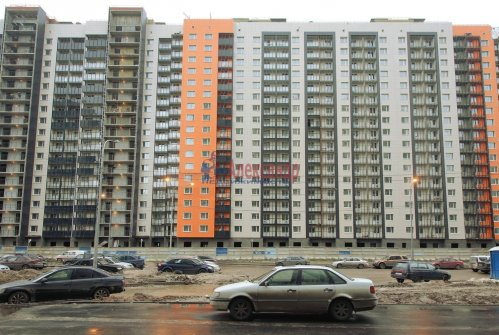 1-комнатная квартира (36м2) на продажу по адресу Мурино пос., Шувалова ул., 10— фото 2 из 7