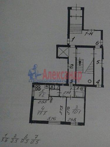 2-комнатная квартира (42м2) на продажу по адресу Трамвайный пр., 13— фото 1 из 12
