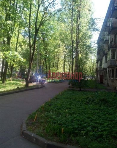 2-комнатная квартира (44м2) на продажу по адресу Светлановский просп., 17— фото 1 из 5