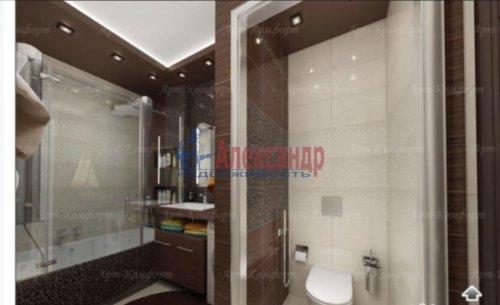 3-комнатная квартира (94м2) на продажу по адресу Луначарского пр., 11— фото 10 из 10