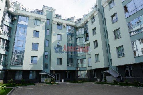 1-комнатная квартира (38м2) на продажу по адресу Пушкин г., Ленинградская ул., 46— фото 3 из 5