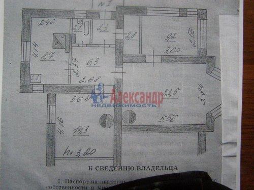 2-комнатная квартира (60м2) на продажу по адресу Свирьстрой пгт.— фото 4 из 14