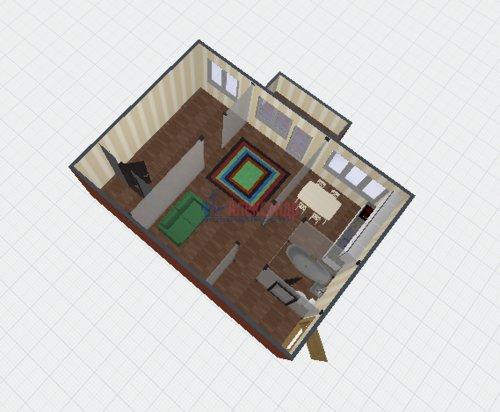 2-комнатная квартира (45м2) на продажу по адресу Маршала Блюхера пр., 63— фото 1 из 7