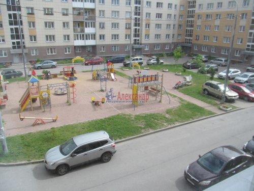 1-комнатная квартира (40м2) на продажу по адресу Шушары пос., Ростовская (Славянка) ул., 2— фото 1 из 6
