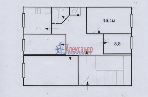 Комната в 4-комнатной квартире (74м2) на продажу по адресу Пирогова пер., 16— фото 2 из 8