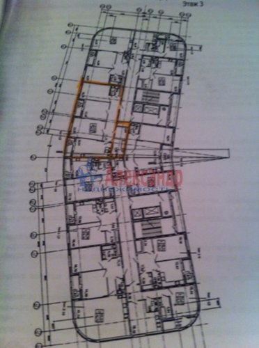 3-комнатная квартира (117м2) на продажу по адресу Жукова ул., 1— фото 3 из 3