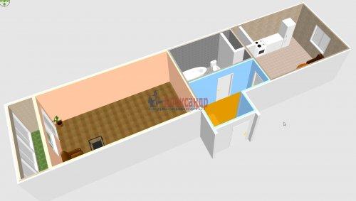 1-комнатная квартира (40м2) на продажу по адресу Шушары пос., Новгородский просп., 10— фото 3 из 10