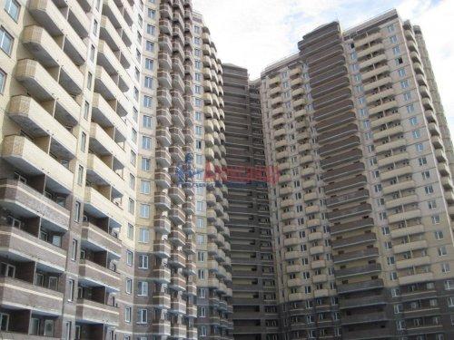 1-комнатная квартира (39м2) на продажу по адресу Бугры пос., Школьная ул., 11— фото 1 из 16
